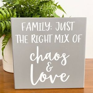Collins Painting Gray White Rustic Farmhouse Sign